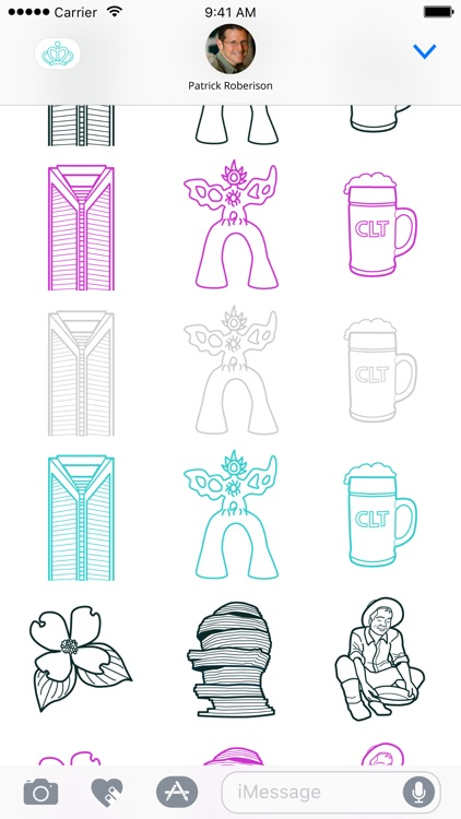 CitiSticks: Charlotte - Stickers for CLT