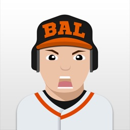 Baltimore Baseball Stickers & Emojis