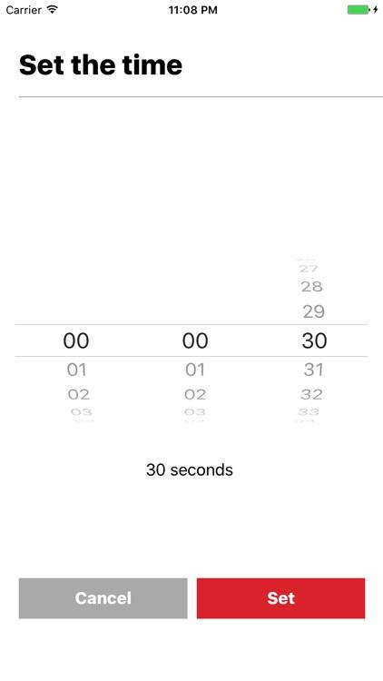 The WOD Timer screenshot-3