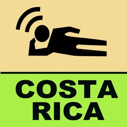 LeaningTraveler Costa Rica GPS Map Travel Guide