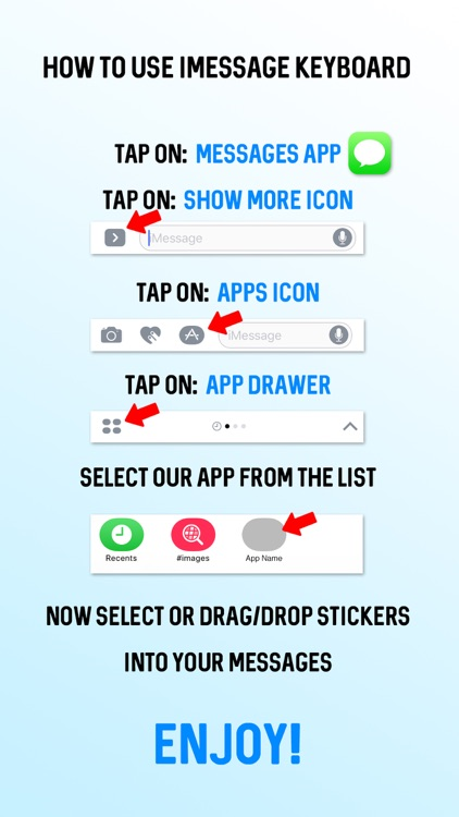 Sweet Blue Cow Emoji Stickers