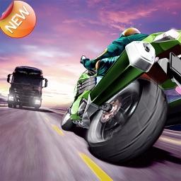 Traffic Rider-Crazy Asphalt HighWay Climb Player!