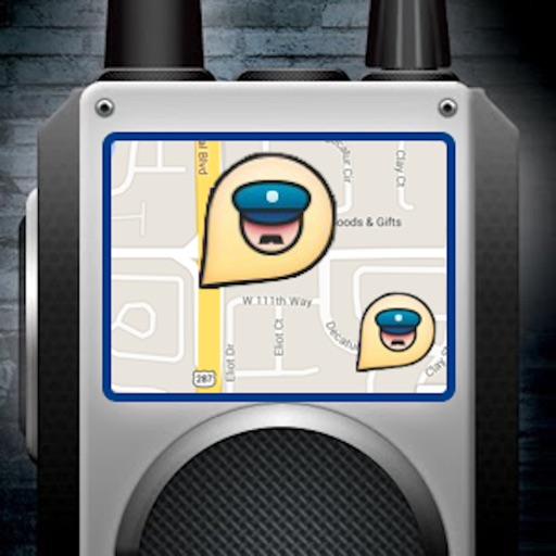 Police Scanner Radar with Tracker