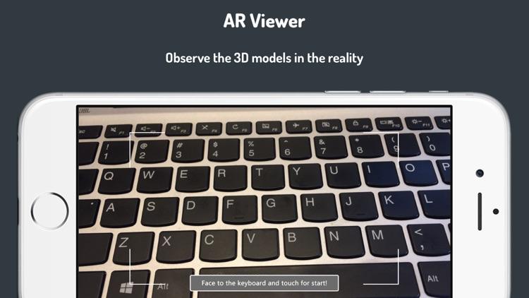 VOID 3D-3D Model AR Viewer screenshot-0
