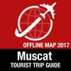 Mascate Guide Touristique + Carte Déconnecté