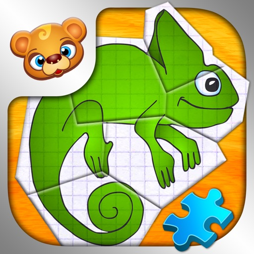 123 Kids Fun PAPER PUZZLES Learning Games for Kids