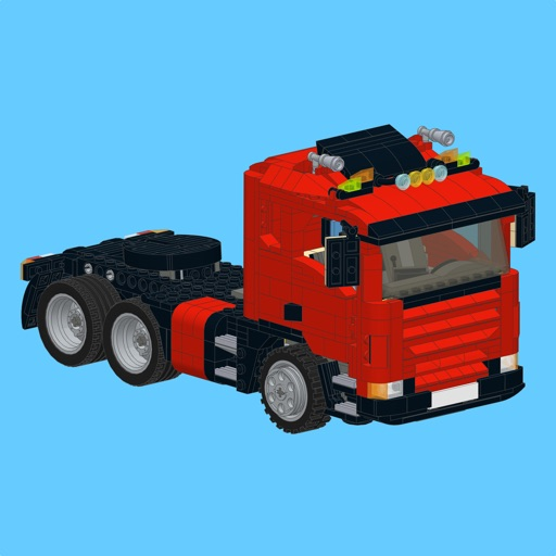 Scania Truck For Lego Building Instructions By Sergey Slobodenyuk