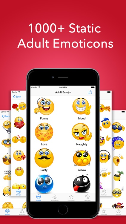 Animated Adult Emoji Icons & Naughty Emoticons Pro