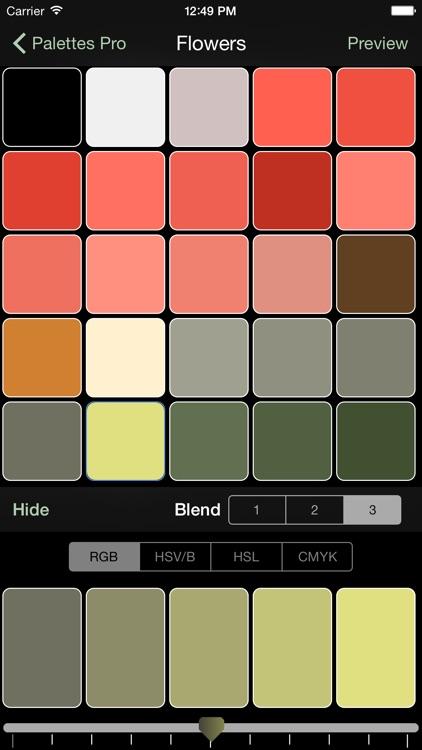 Palettes Pro screenshot-4