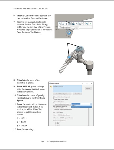 Official Certified SOLIDWORKS Professional Certification Guide by ...