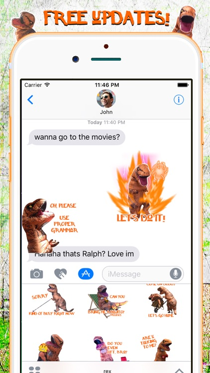 Ralph the Rex - Official Dino Emojis & Gifs