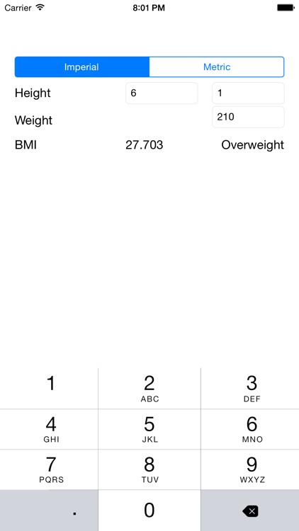 BMI Calculator - Simple Body Mass Index Calculator