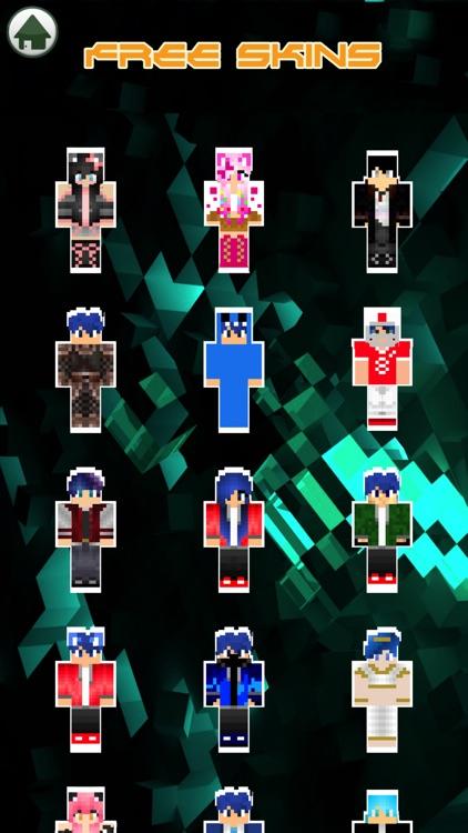 Cute Couple Dante & Kawaii Skins For Minecraft PE screenshot-3