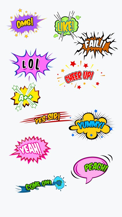 Comic 3D - Animated Comic Effect Stickers screenshot-3