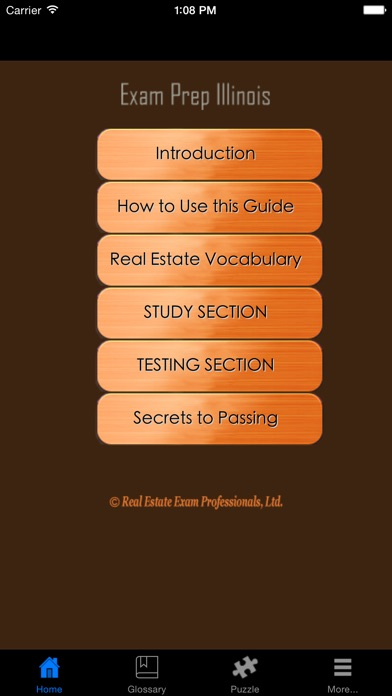 Examprepil Illinois Real Estate Agent Exam Prep review screenshots