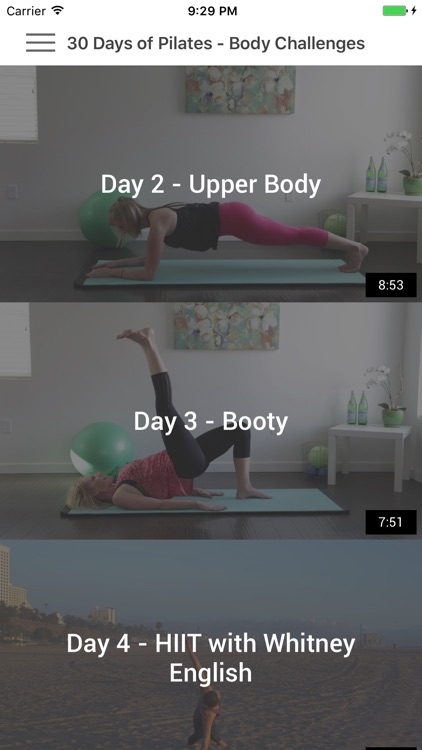 30 Days of Pilates - Personal Trainer