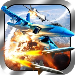 Air Drone Combat - Military Jet Fighter Aircraft Battle Simulation Game
