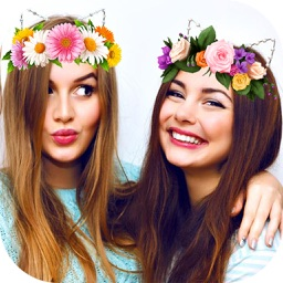 Filters Flower Crown & Doggy Faceu - Beauty camera