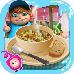 Soup Maker Kids Cooking Game