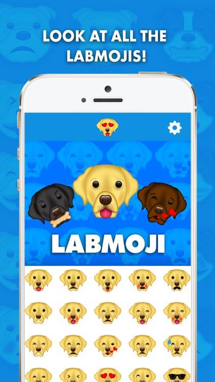 LabMoji - Labrador Retriever Emoji & Stickers!