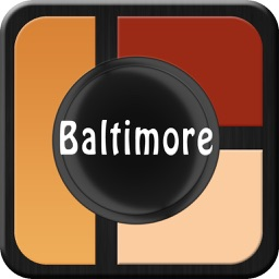 Baltimore Offline Map City Guide