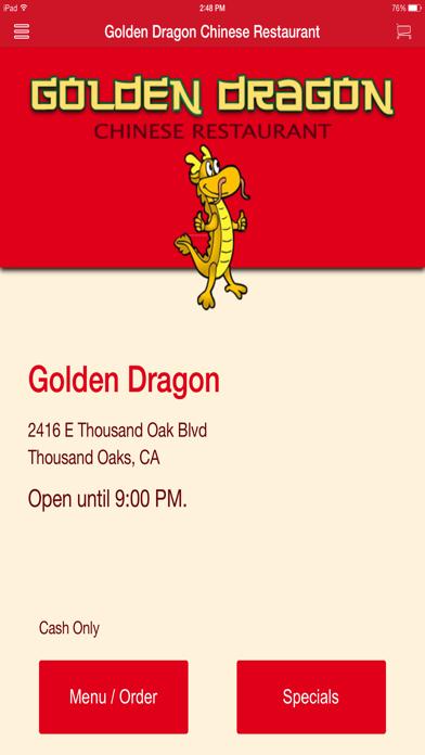 Golden Dragon Chinese Restaurant screenshot one