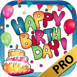 Birthday greeting cards photo editor – Pro