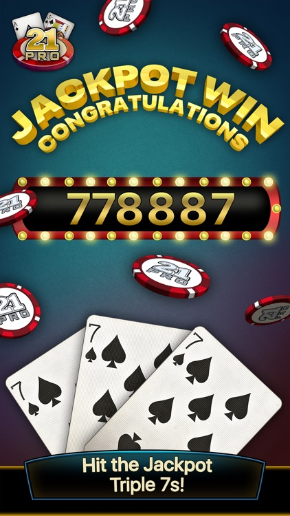 21 Pro: Blackjack Multi-Hand screenshot-1