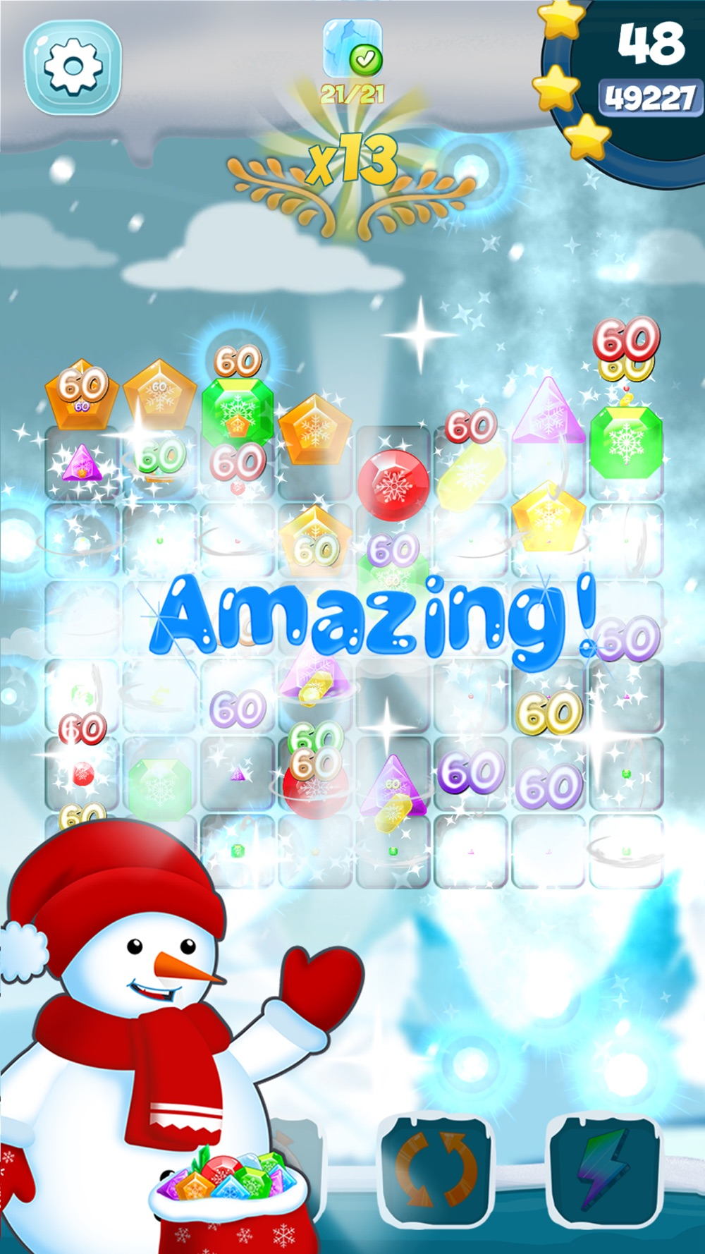 Frozen Diamond Mash: Winter Edition - Puzzle Game hack tool