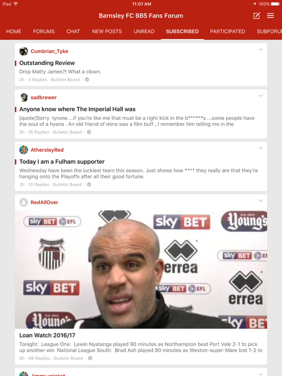 Barnsley FC BBS Fans Forum screenshot 8