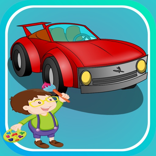 Printable Cartoon Car Coloring Pages For Kids