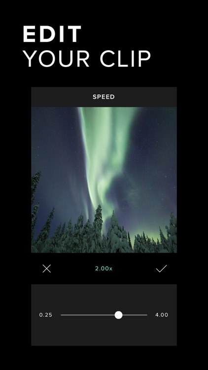 Carve Video Editor - Cinematic Filters screenshot-3