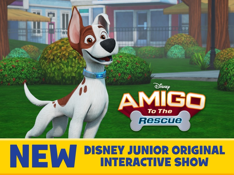 Amigo to the Rescue-Disney Junior Interactive Show screenshot-0