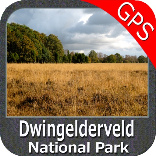 Dwingelderveld NP GPS and outdoor map with guide