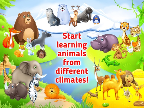 Learn Animals Animal Sounds For Toddlers Kids App Price Drops