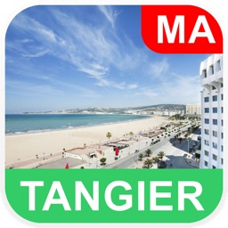 Tangier, Morocco Offline Map - PLACE STARS