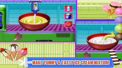 Ice Cream Factory Truck screenshot three