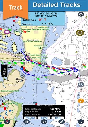 Boating Oregon Nautical Charts - náhled