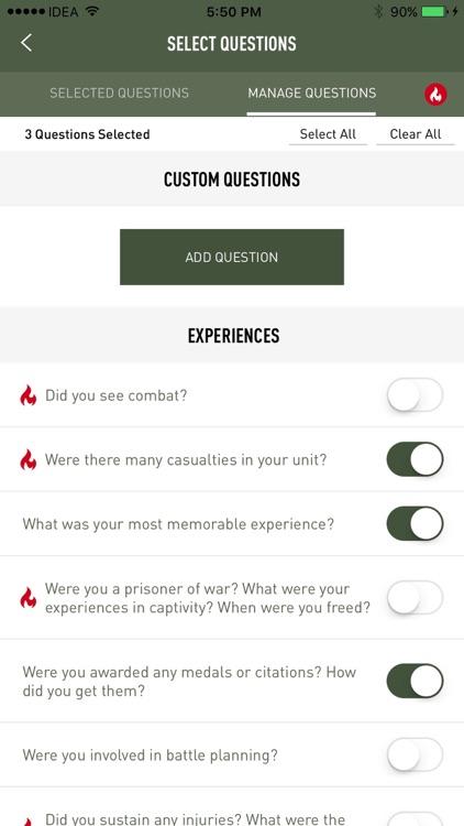 VHP - Veterans History Project screenshot-3