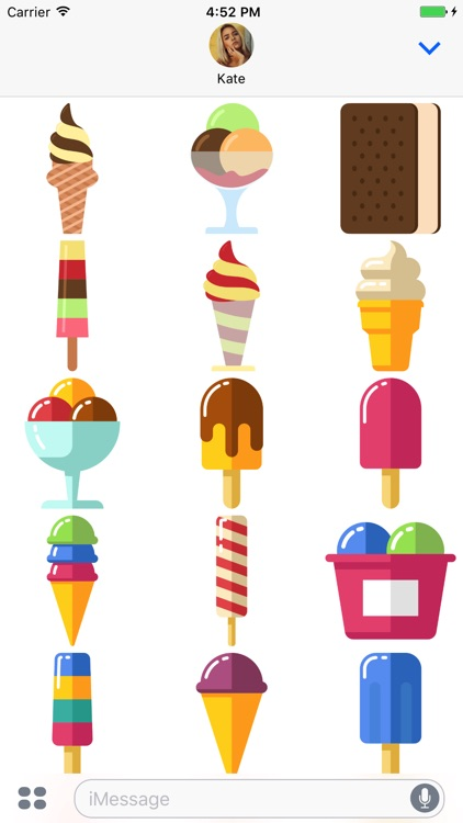 Ice Cream Stickers - Catch Me Outside screenshot-3