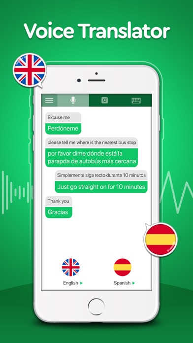 Voice to Voice Translator App screenshot 6