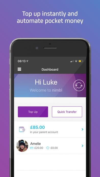 nimbl Banking for young people screenshot four