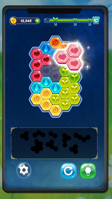 Block Hexa Puzzle : My Flower screenshot 5
