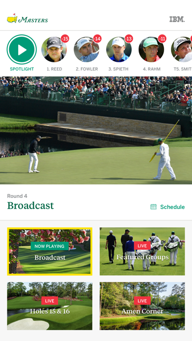 The Masters Tournament app image