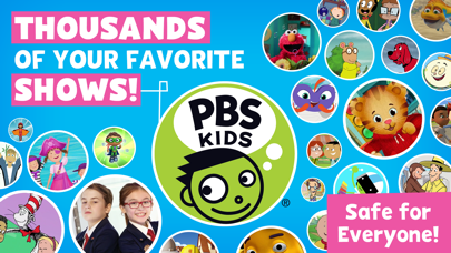 Screenshot for PBS KIDS Video in United States App Store