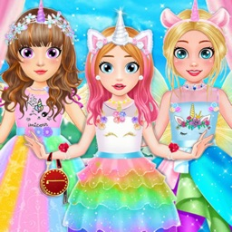 Unicorn Fashion Dress Up Games