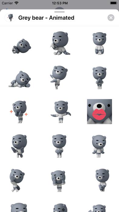 Grey bear - Animated screenshot 1