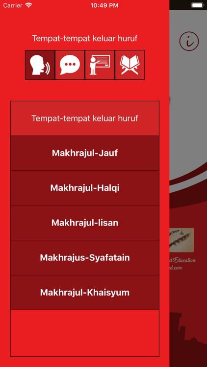 Learn Arabic- Juz' Amma Indo screenshot-4