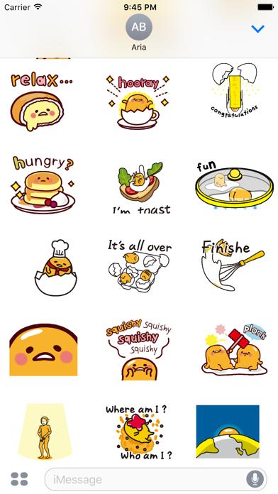 Animated Gudetama Egg Sticker screenshot 4