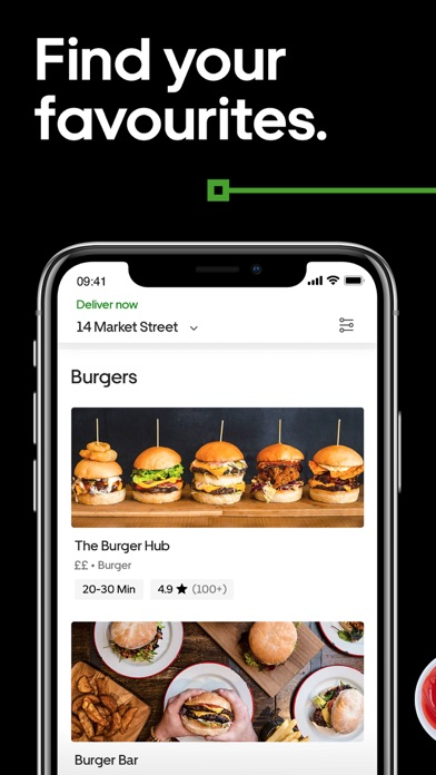 Screenshot for Uber Eats: Food Delivery in Hong Kong App Store